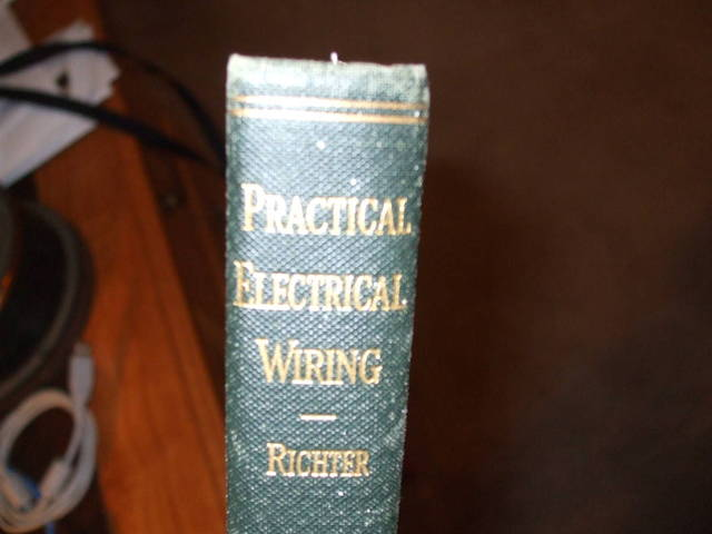 Practical Electrical Wiring Book 1947