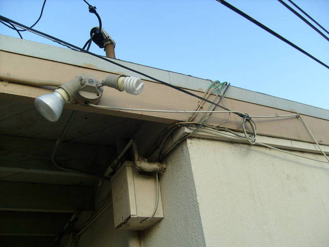 Slum Apartment  Wiring