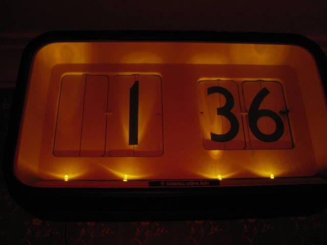 Solari Cifra 12 art deco electric clock