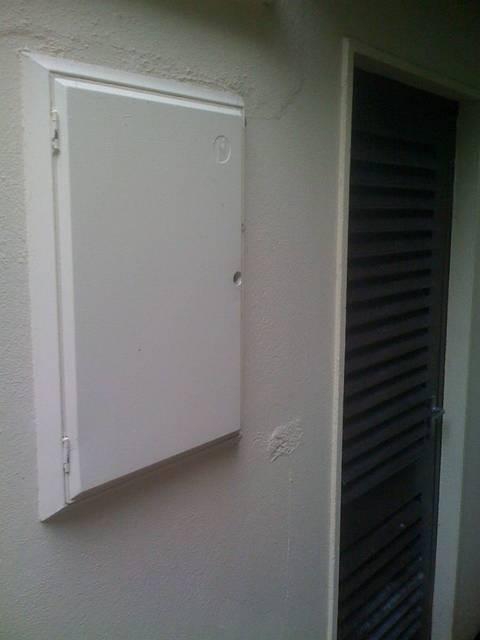 Irish Meter Cabinet - Residential