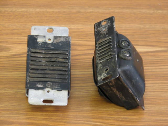 Old Transformer and Buzzer - 1/4