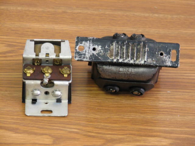 Old Transformer and Buzzer - 2/4