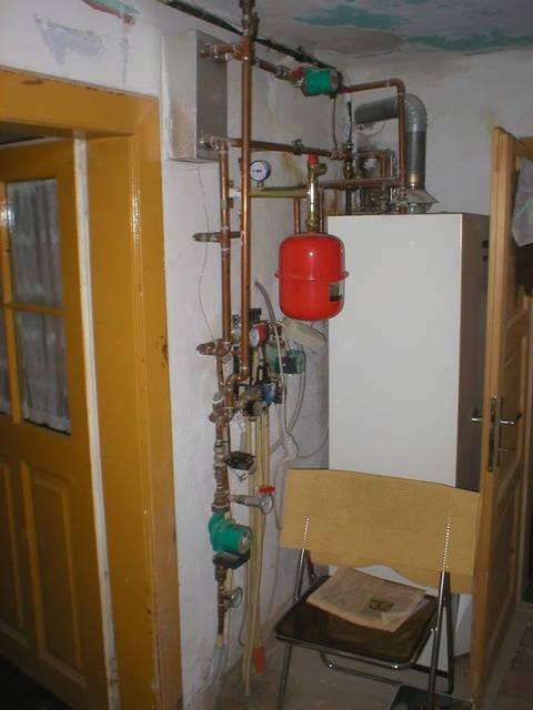 Boiler setup