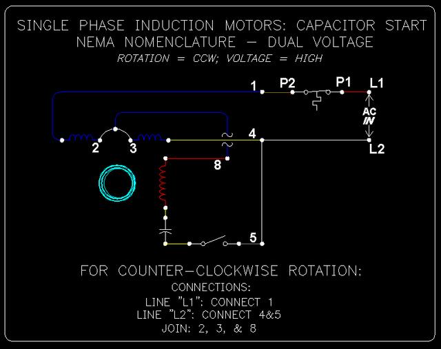 1 Phase Cap. Start Induction Motors: 3 of 10