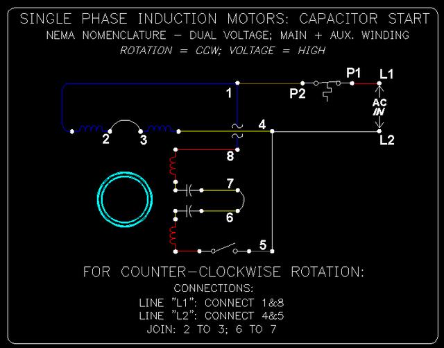 1 Phase Cap. Start Induction Motors: 7 of 10