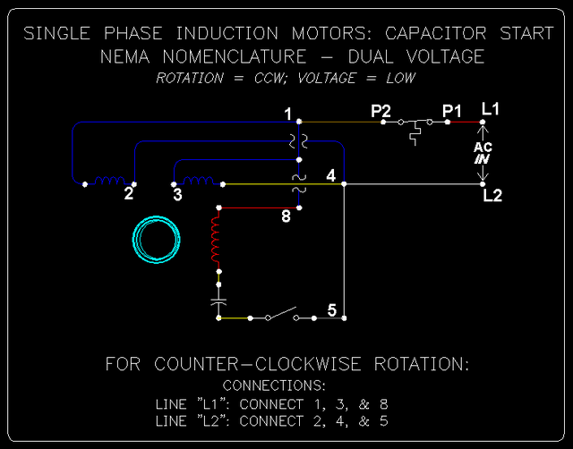 1 Phase Cap. Start Induction Motors: 5 of 10