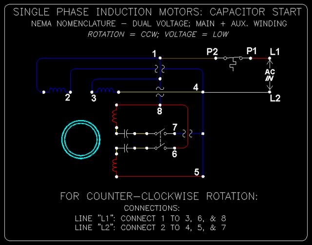 1 Phase Cap. Start Induction Motors: 9 of 10