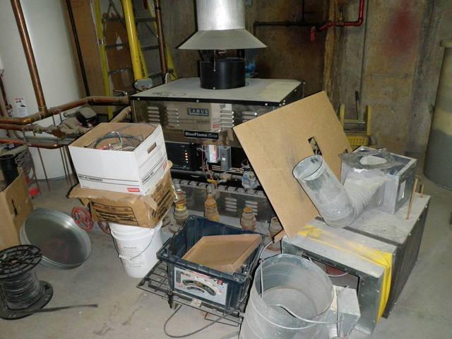 Messy Boiler Room 7