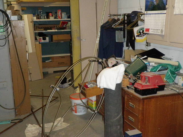 Messy boiler room 9